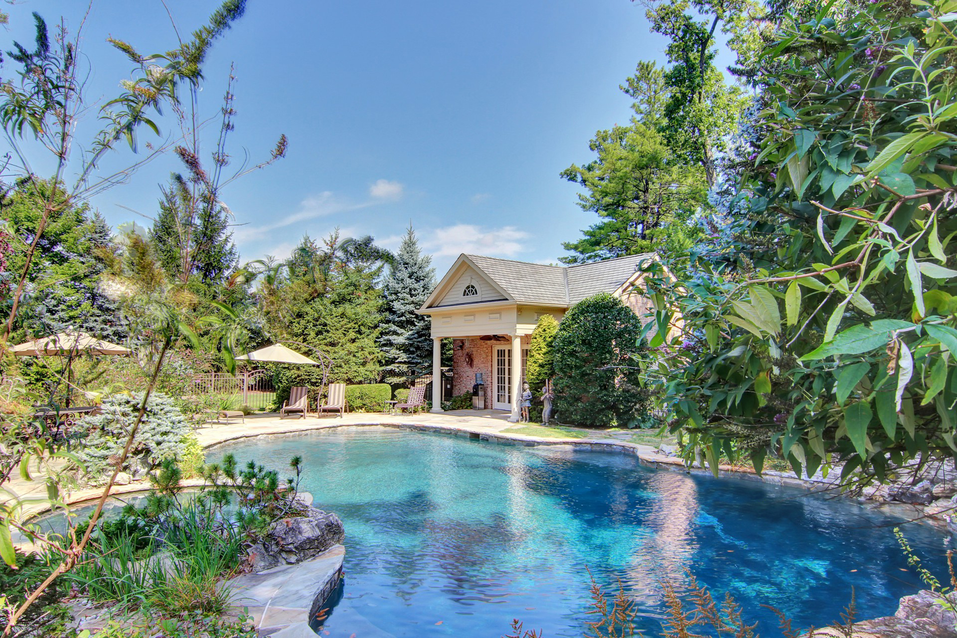 35 Tall Pine Lane Pool and Pool House