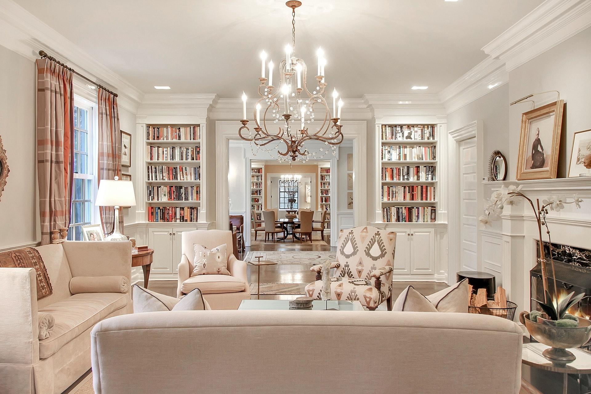 36 Stewart Living Room