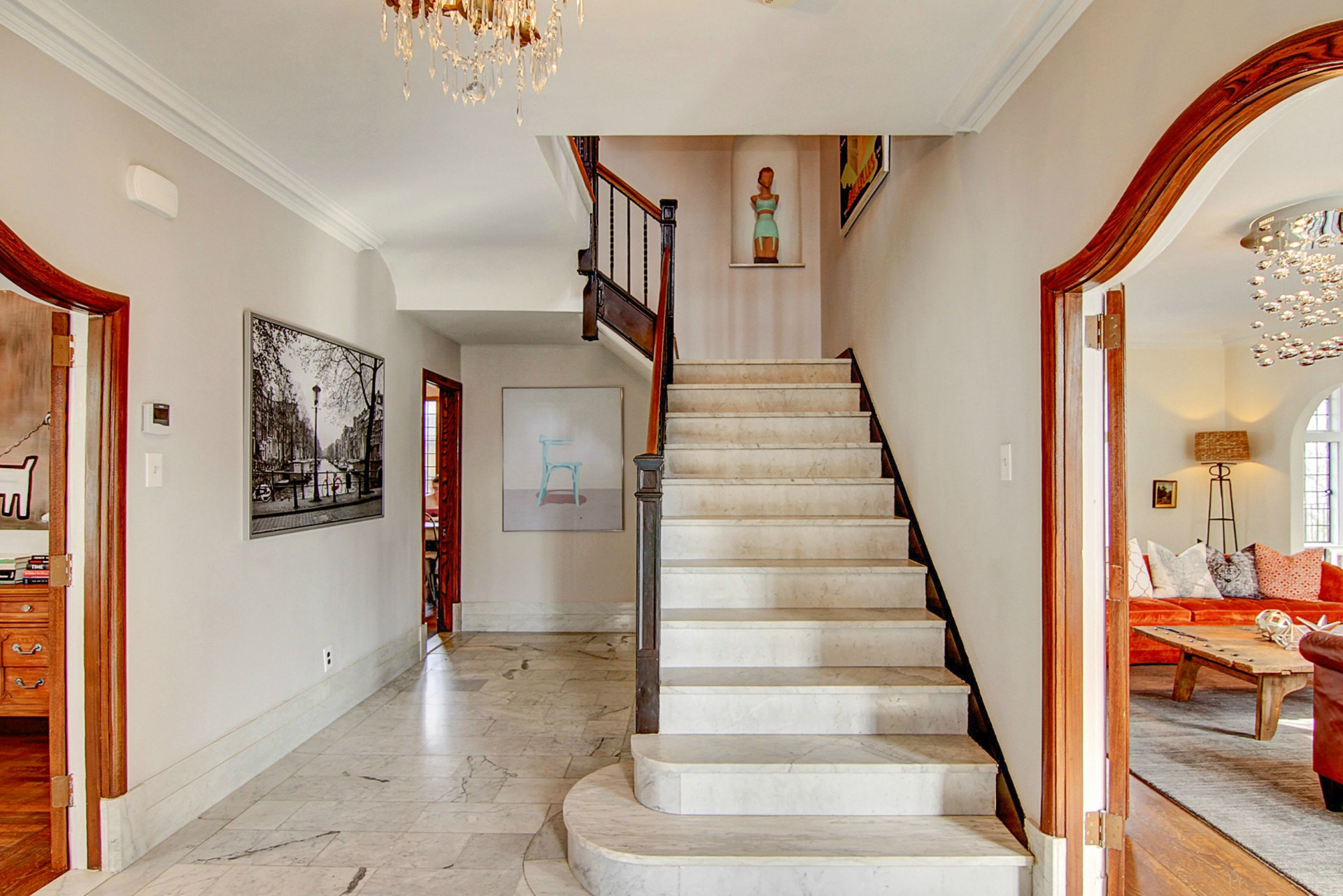 441 Overhill Road Foyer Photo