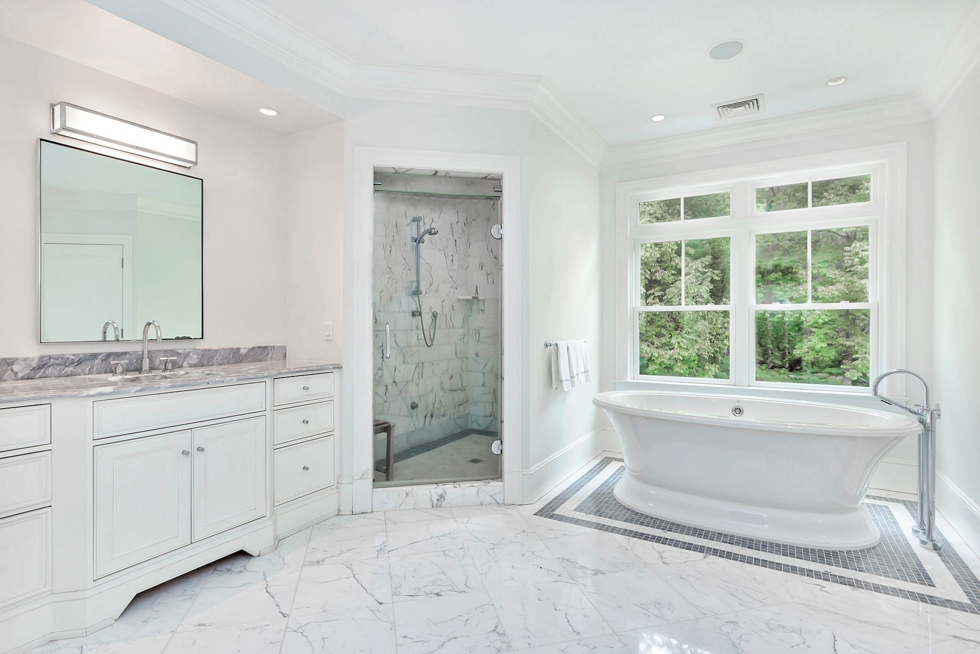 50 Farley Road Master Bath