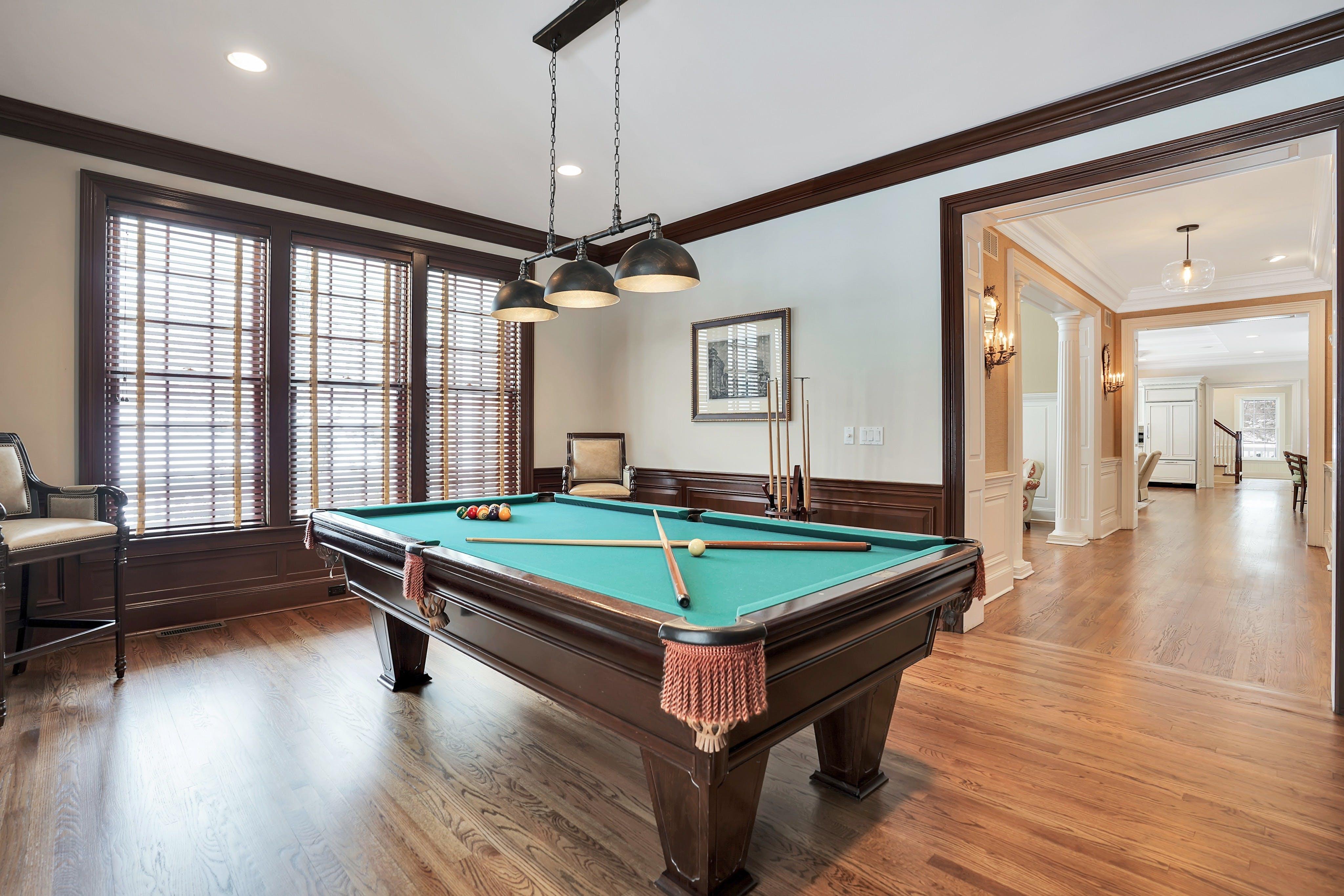 607 Spring Valley Road Billiard Room