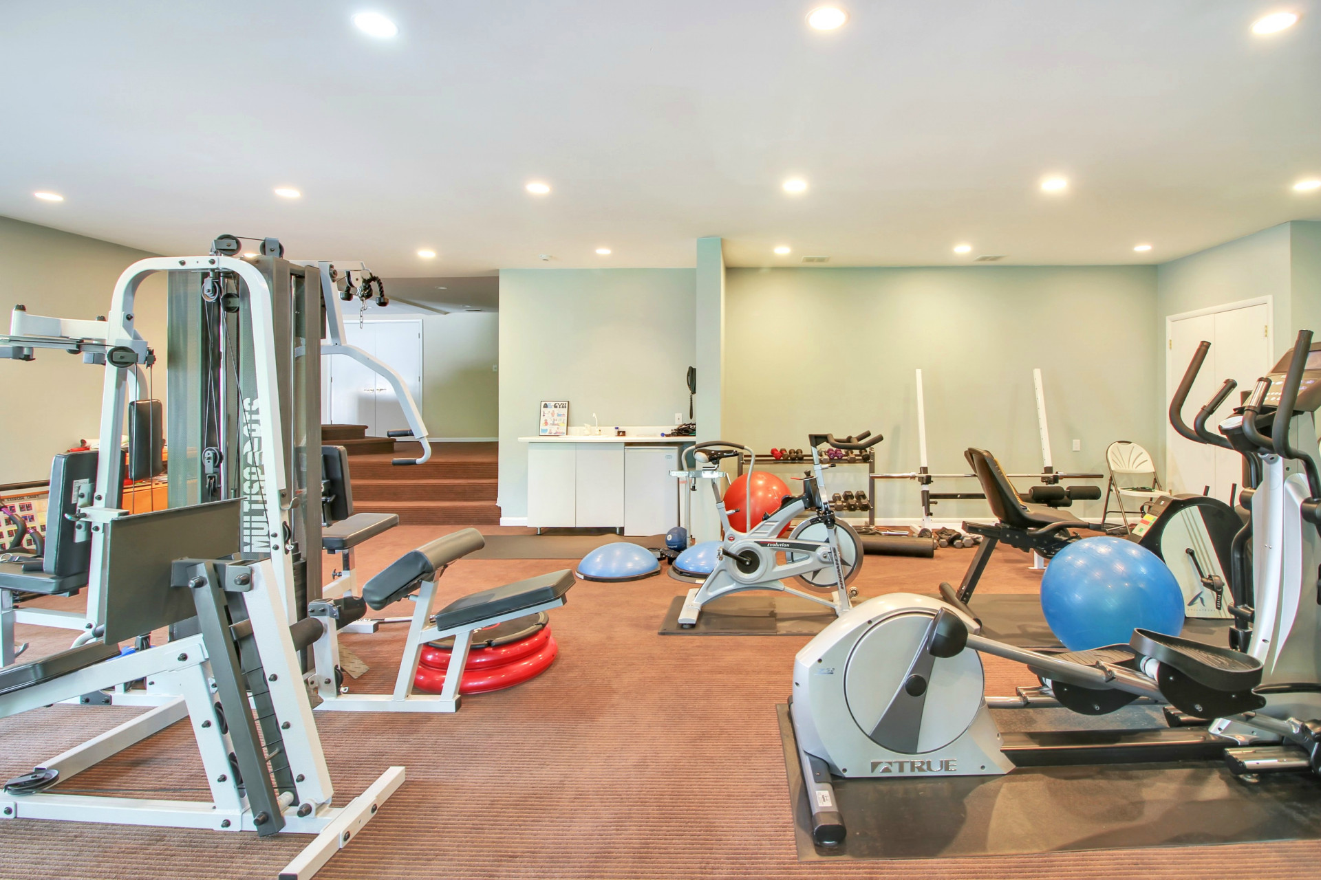 84 Shrewsbury Drive Exercise Room
