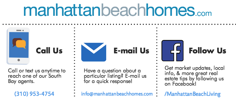 ManhattanBeachHomes.com Contact Information