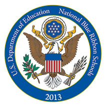 National Blue Ribbon School Emblem