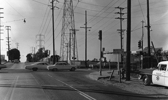 Rosecrans and Sepulveda Blvd in Manhattan Beach Circa 1966