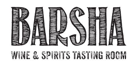 Barsha Wines & Spirits Tasting Room Logo