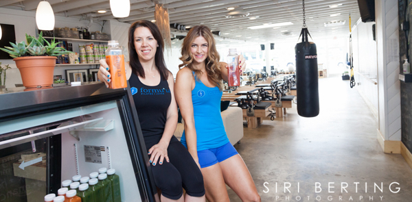 Aimee and Jasmine of Formula Pilates and Juice