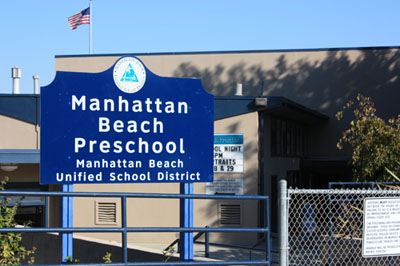 Front Entrance to Manhattan Beach Preschool