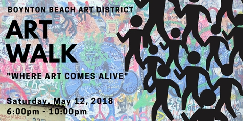 Boynton Beach Art District Art Walk