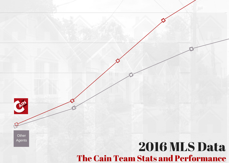 2016 MLS Data Cain Realty Group stats and performance