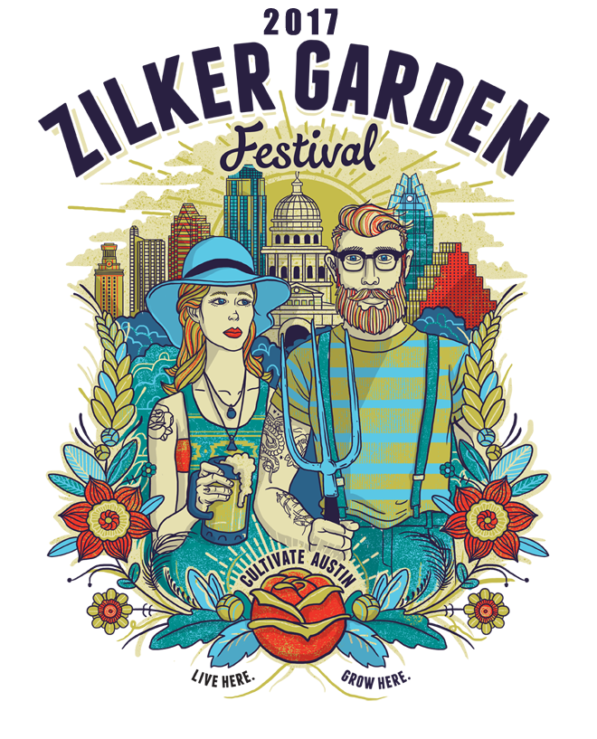 2017 Zilker Garden Festival March 25 and 26 2017