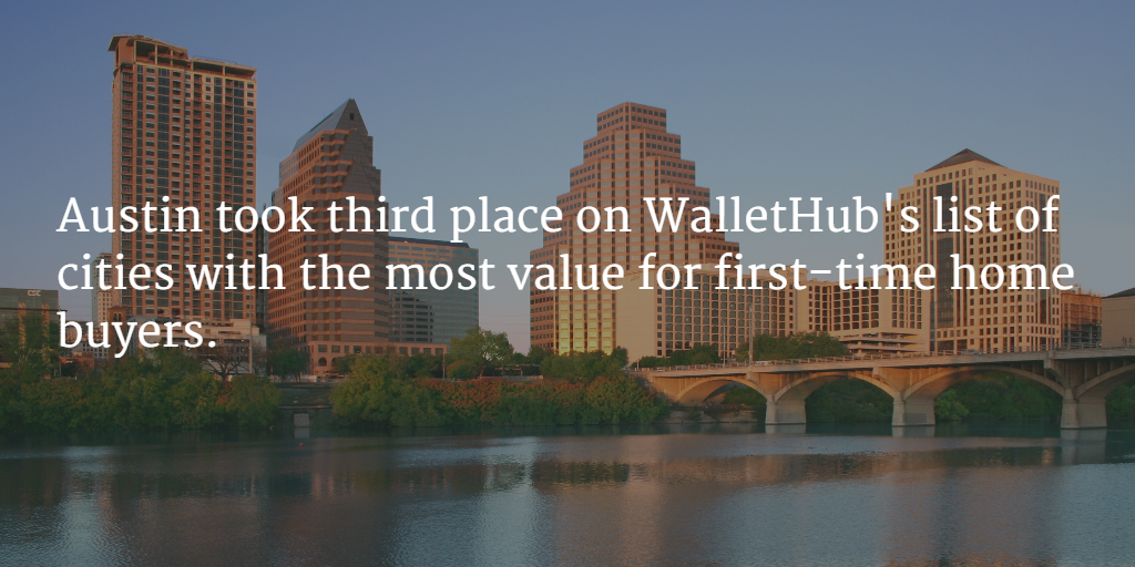 Austin real estate offers great value to buyers.