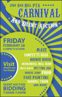 Travis Country Neighborhood Events: Annual Oak Hill Elementary School Spring Carnival and Silent Auction