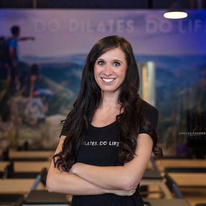 Danielle Knot Owner Club Pilates Royal Oak