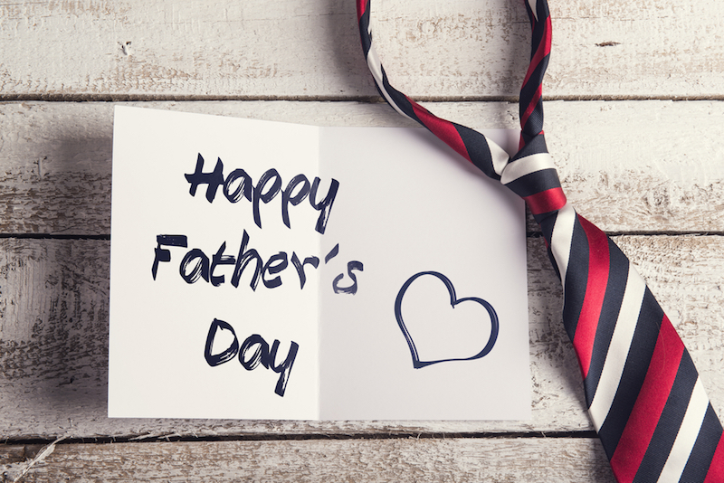 Happy Father's Day via Shutterstock