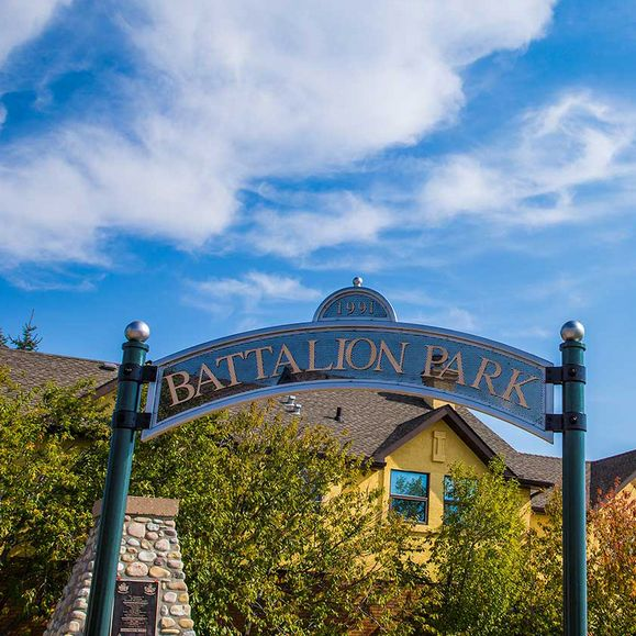 Battalion Park in Calgary, AB