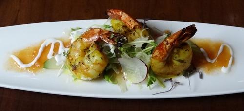 Bearspaw Restuarant Shrimp Plate
