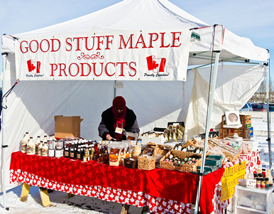 Yummy maple foods: Image courtesy http://rachelmillerjournalism.com