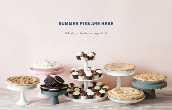 Crave Cookies and Cupcakes Makes Pies