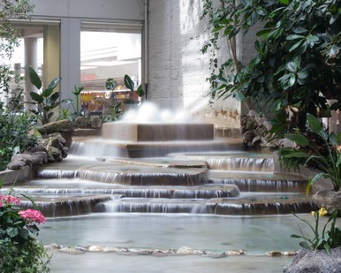 Devonian Gardens Fountain