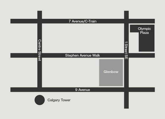 Directions to Glenbow Museum