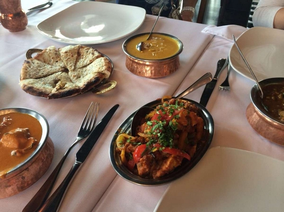 Nawab Restaurant's Chilli Chicken, Butter Chicken, Keema and Gosht Korma