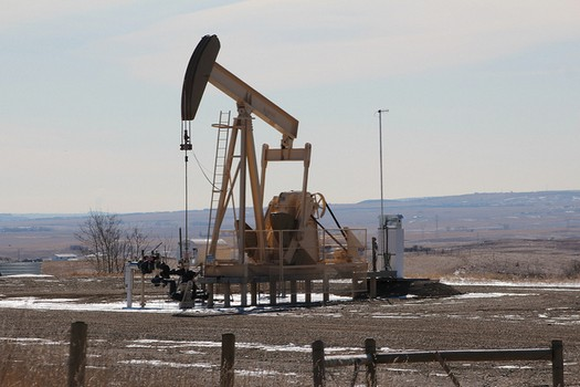Alberta Oil Drill during Oil Crisis