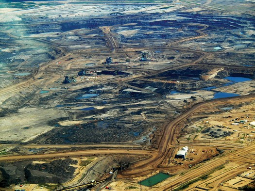 Alberta Tar Sands during Oil Crisis