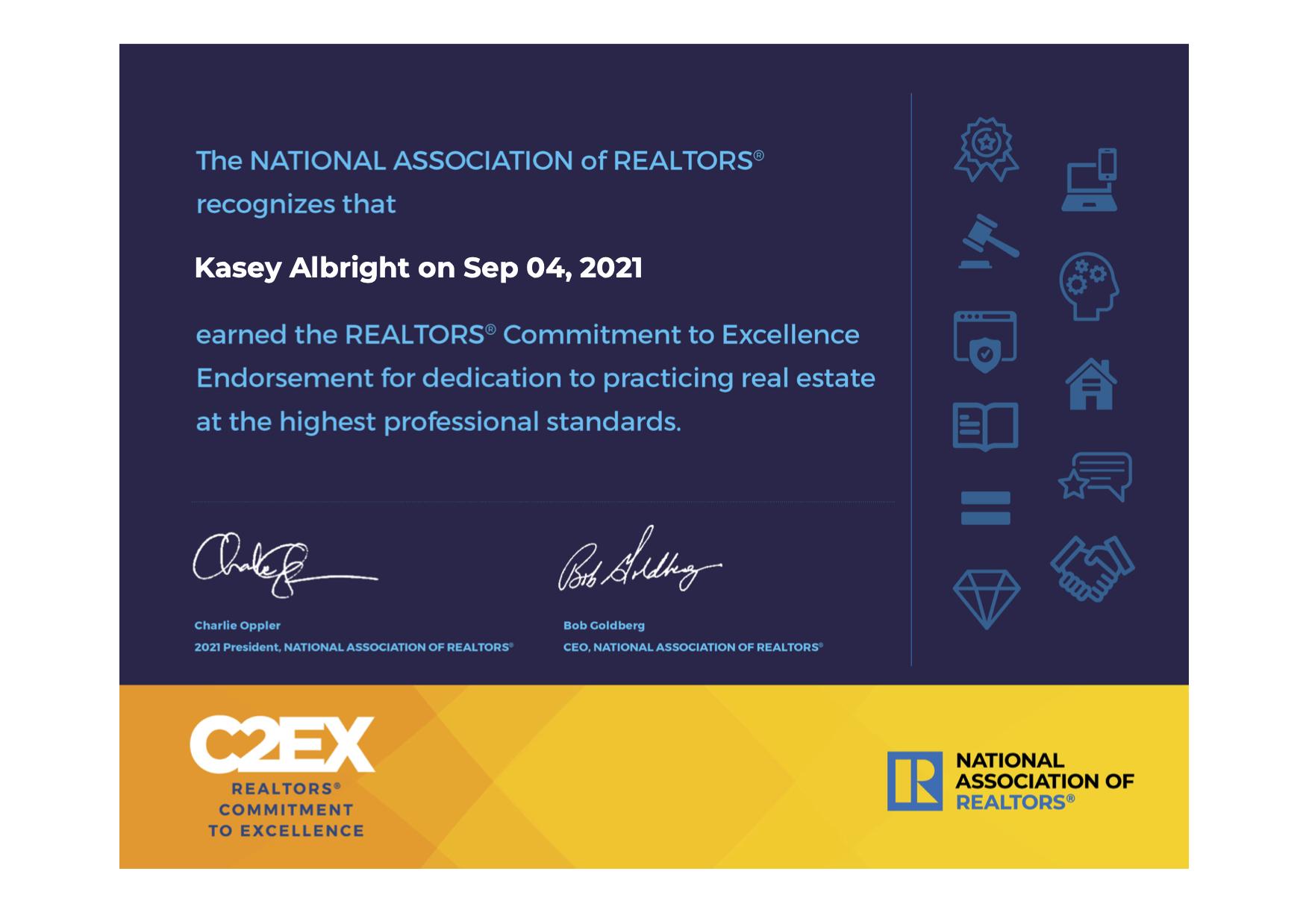 C2EX Kasey Albright
