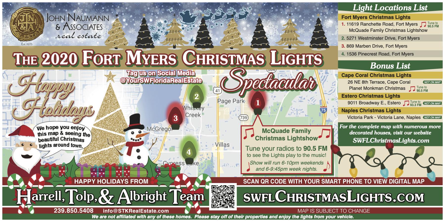 Fort Myers Christmas Lights