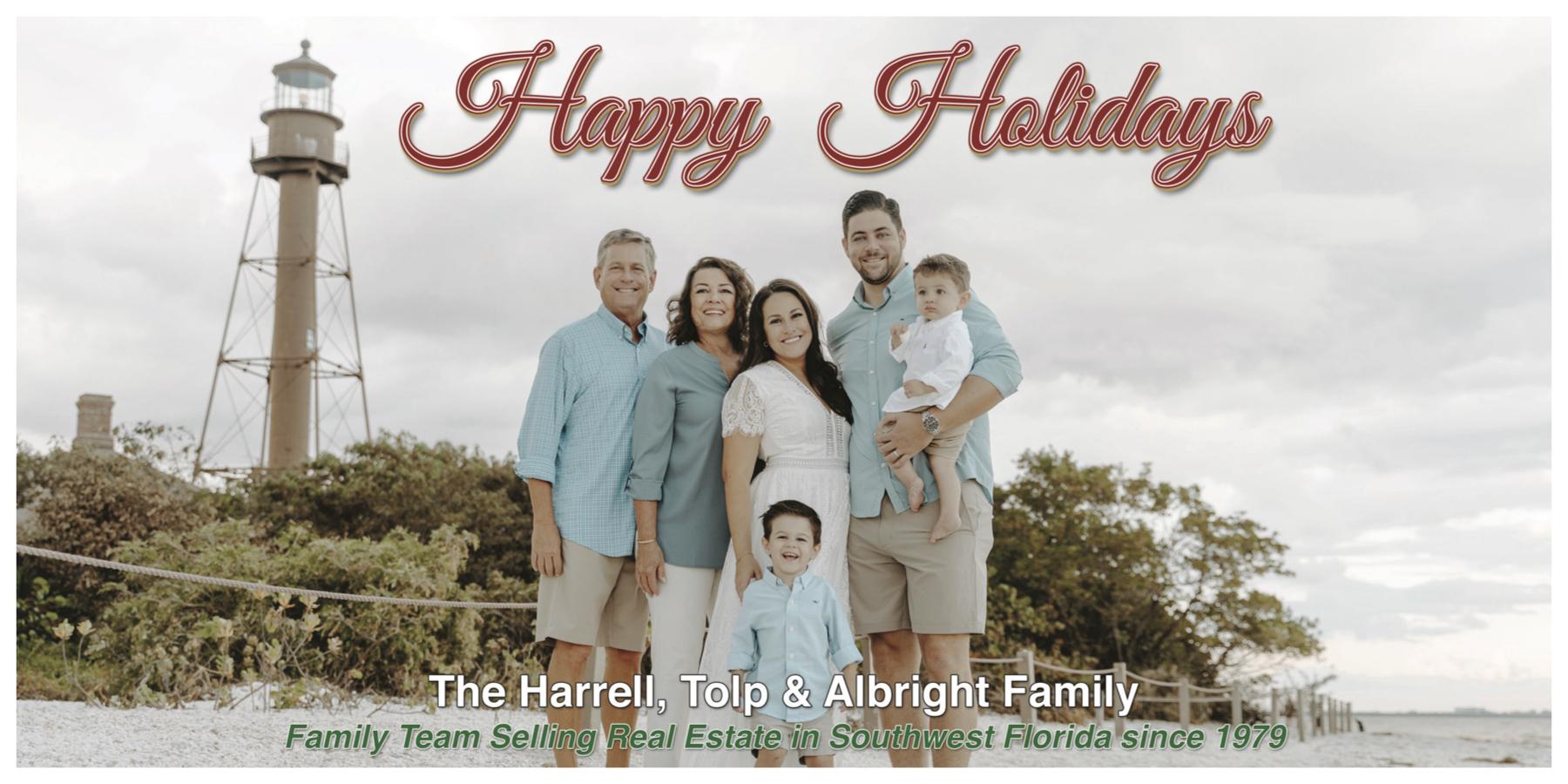Happy Holidays Harrell Tolp Albright Team