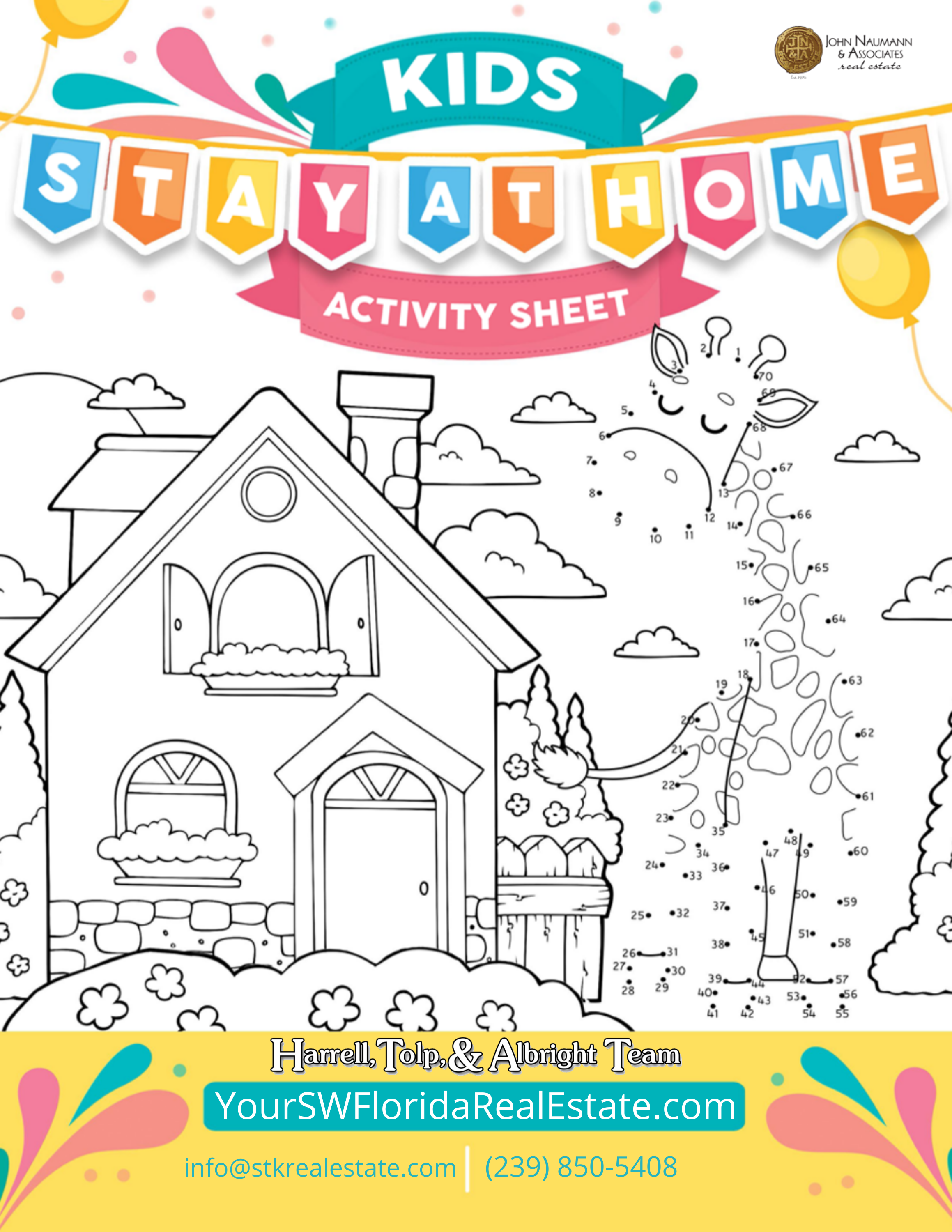 Kids Activity Sheet