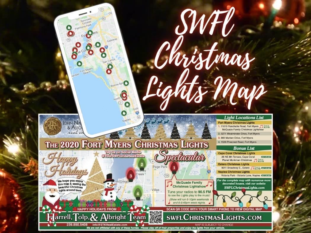 SWFL Christmas Lights Map