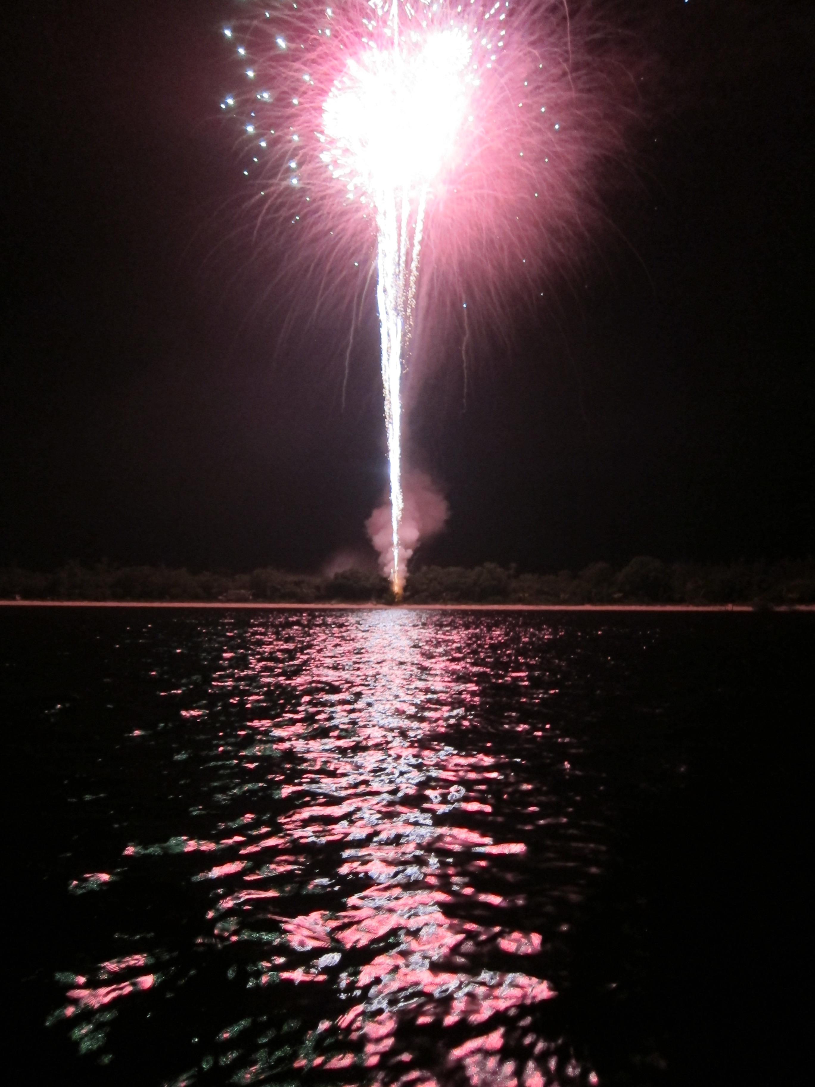 Sanibel 4th of July Fireworks