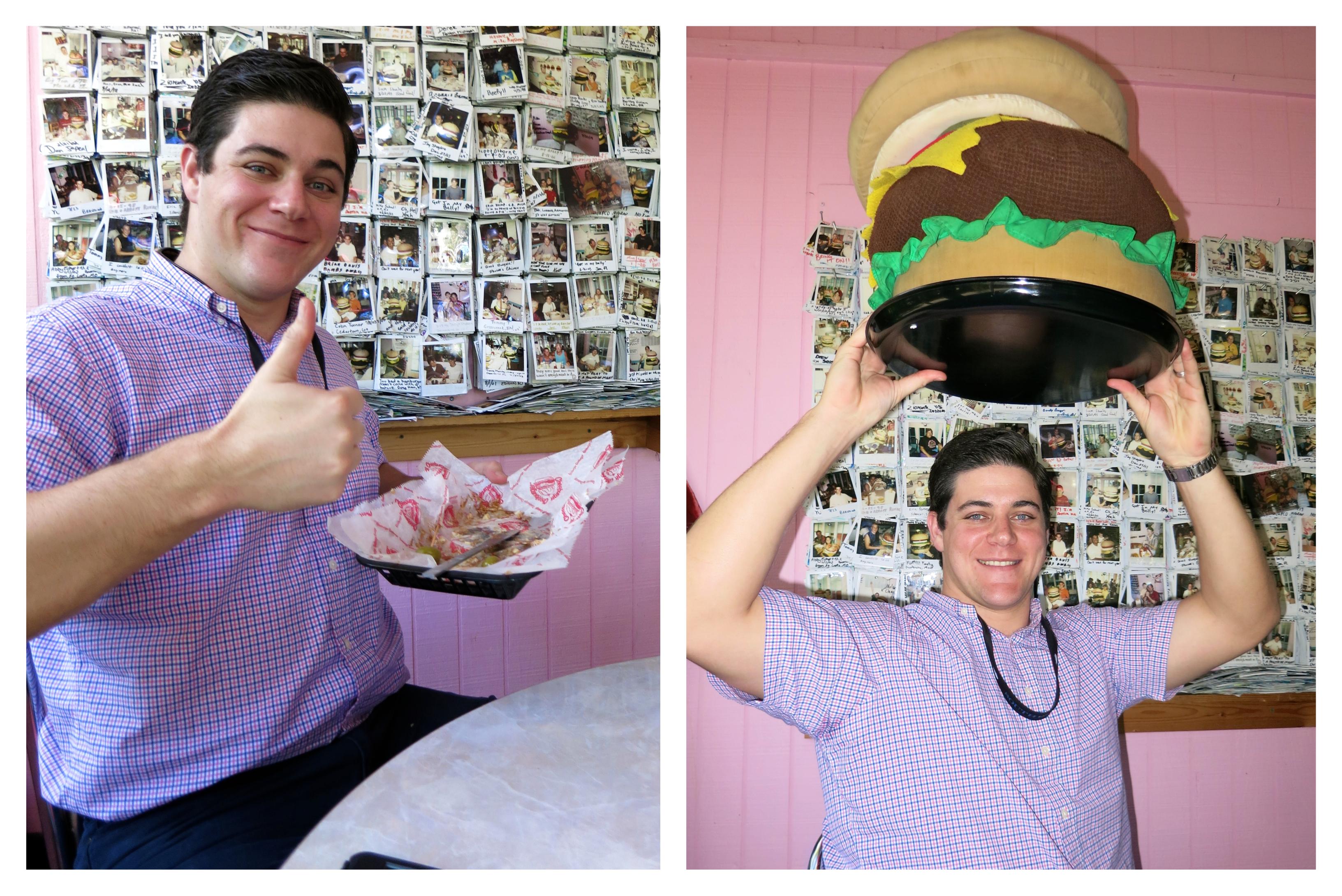 Cheeburger Cheeburger Burger Challenge