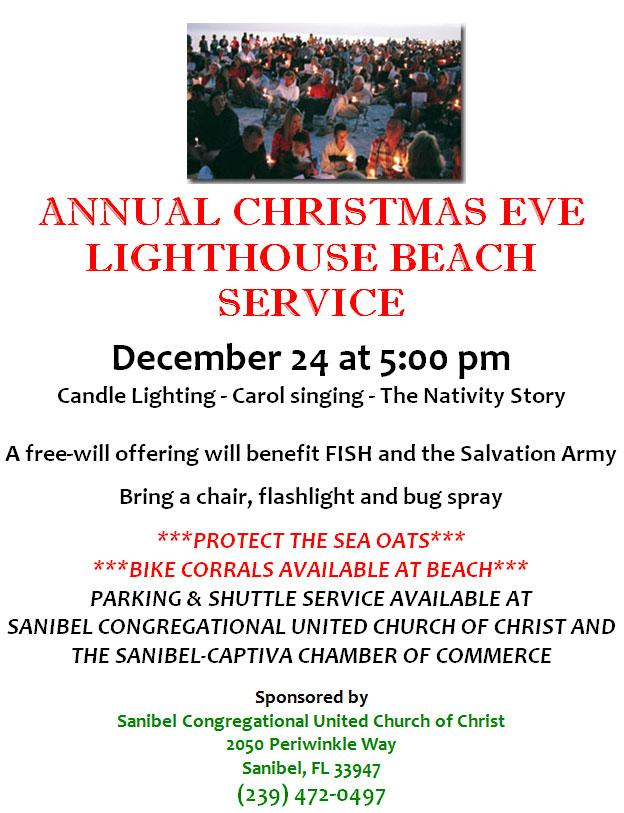 Sanibel Congregational Church Christmas