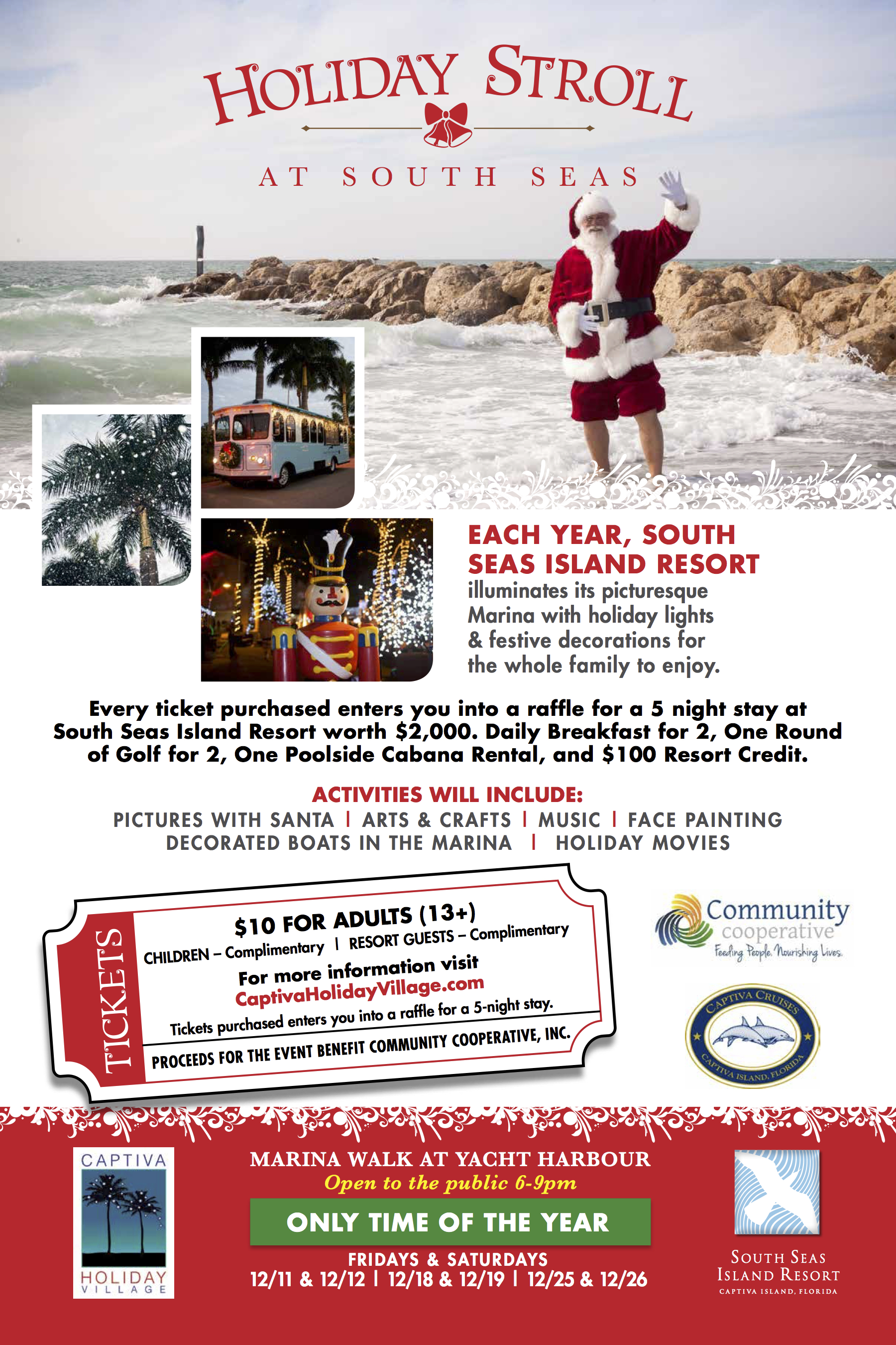 South Seas Holiday Stroll