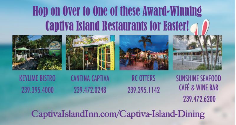 Captiva Easter Restaurants