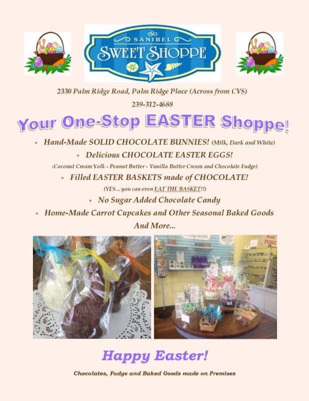 Sanibel Sweet Shoppe Easter