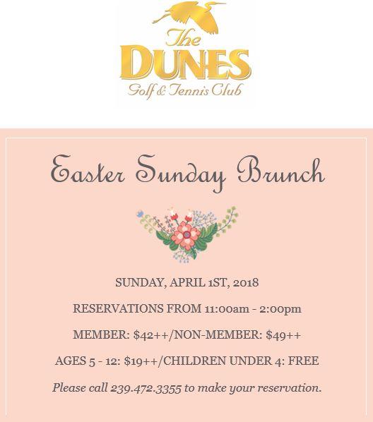 Dunes Easter