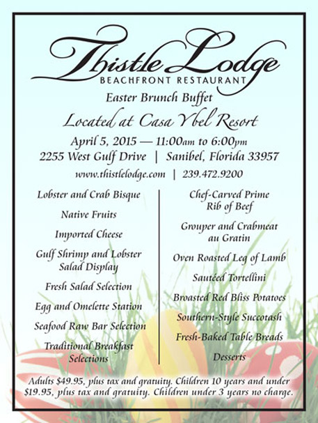 Thistle Lodge Easter