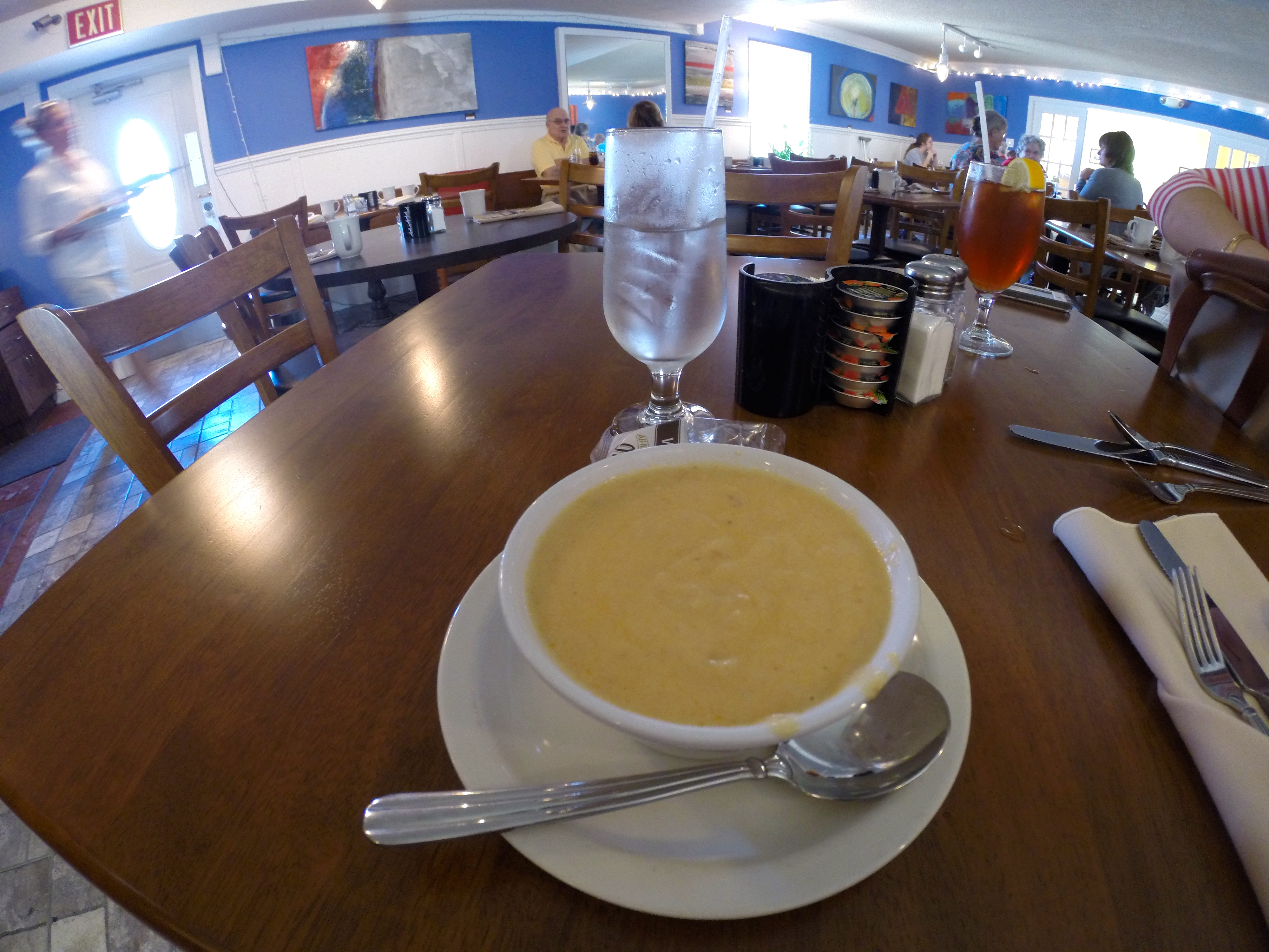 Normandie Seaside Pub Lobster Bisque