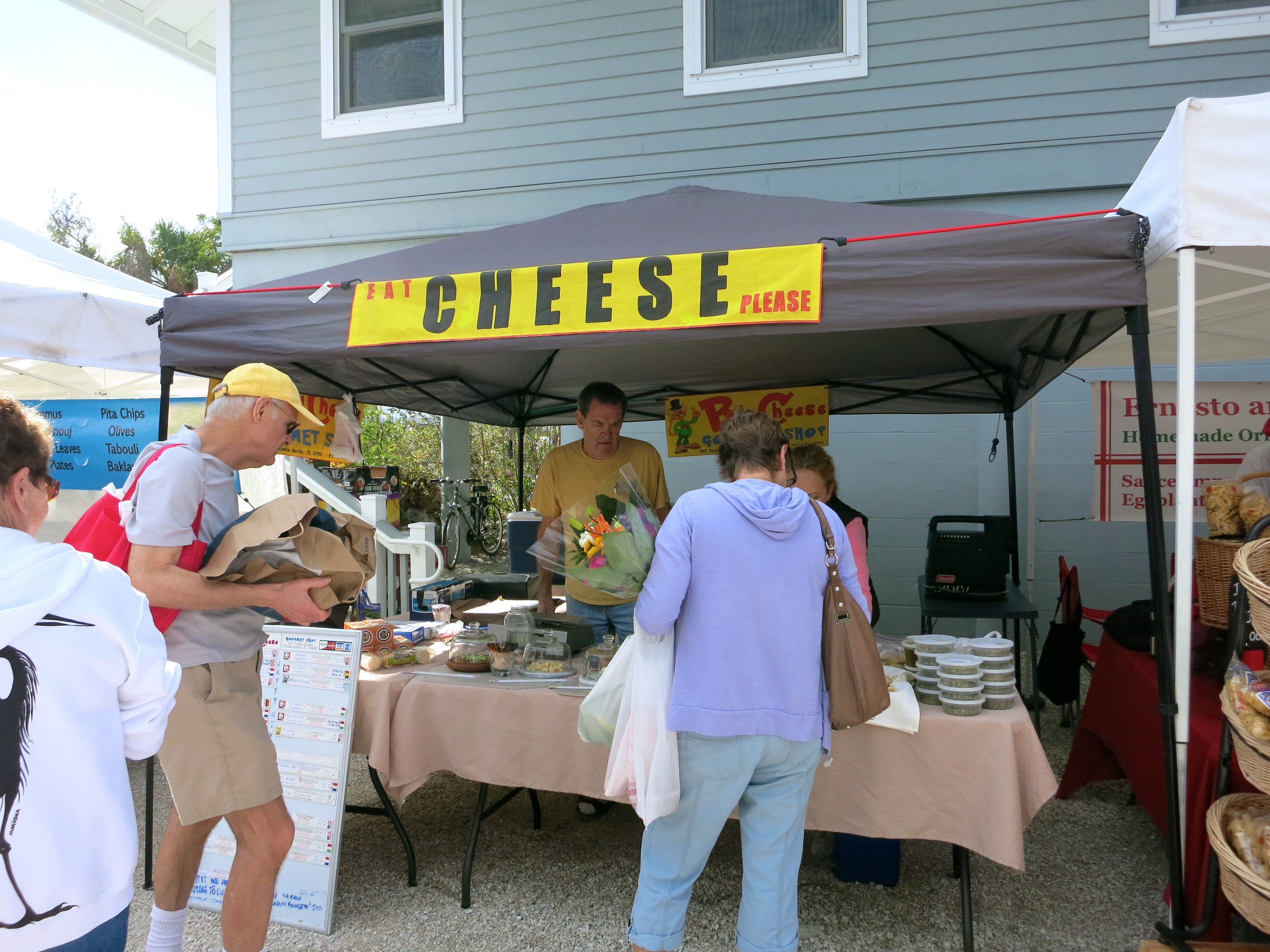 Sanibel Farmers Market Cheese