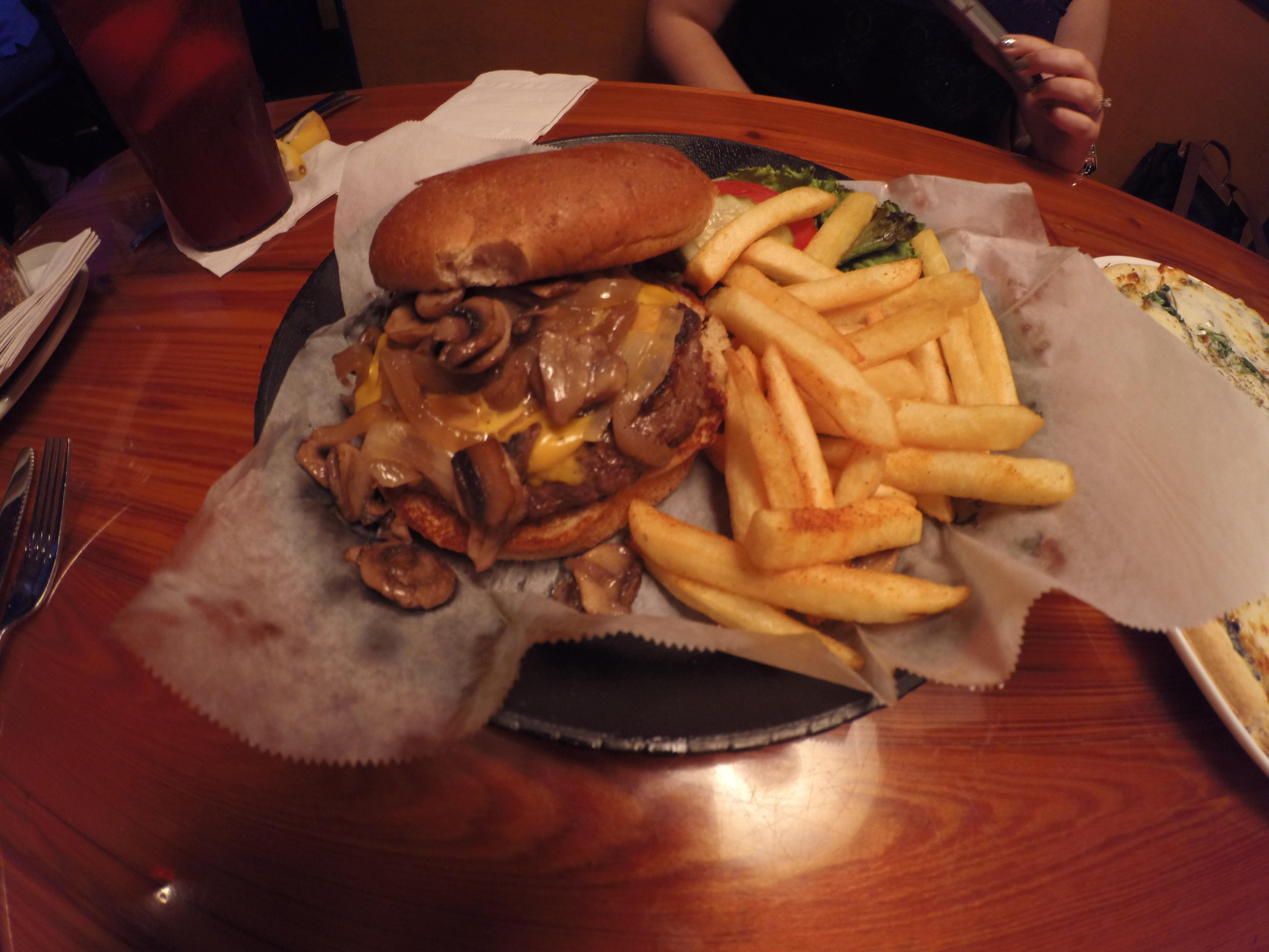 Sanibel Grill Chris Berman Burger