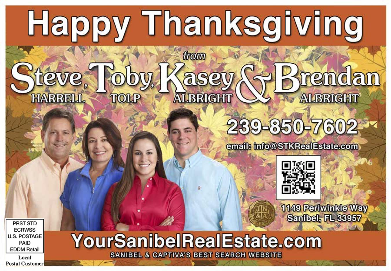 Sanibel Thanksgiving