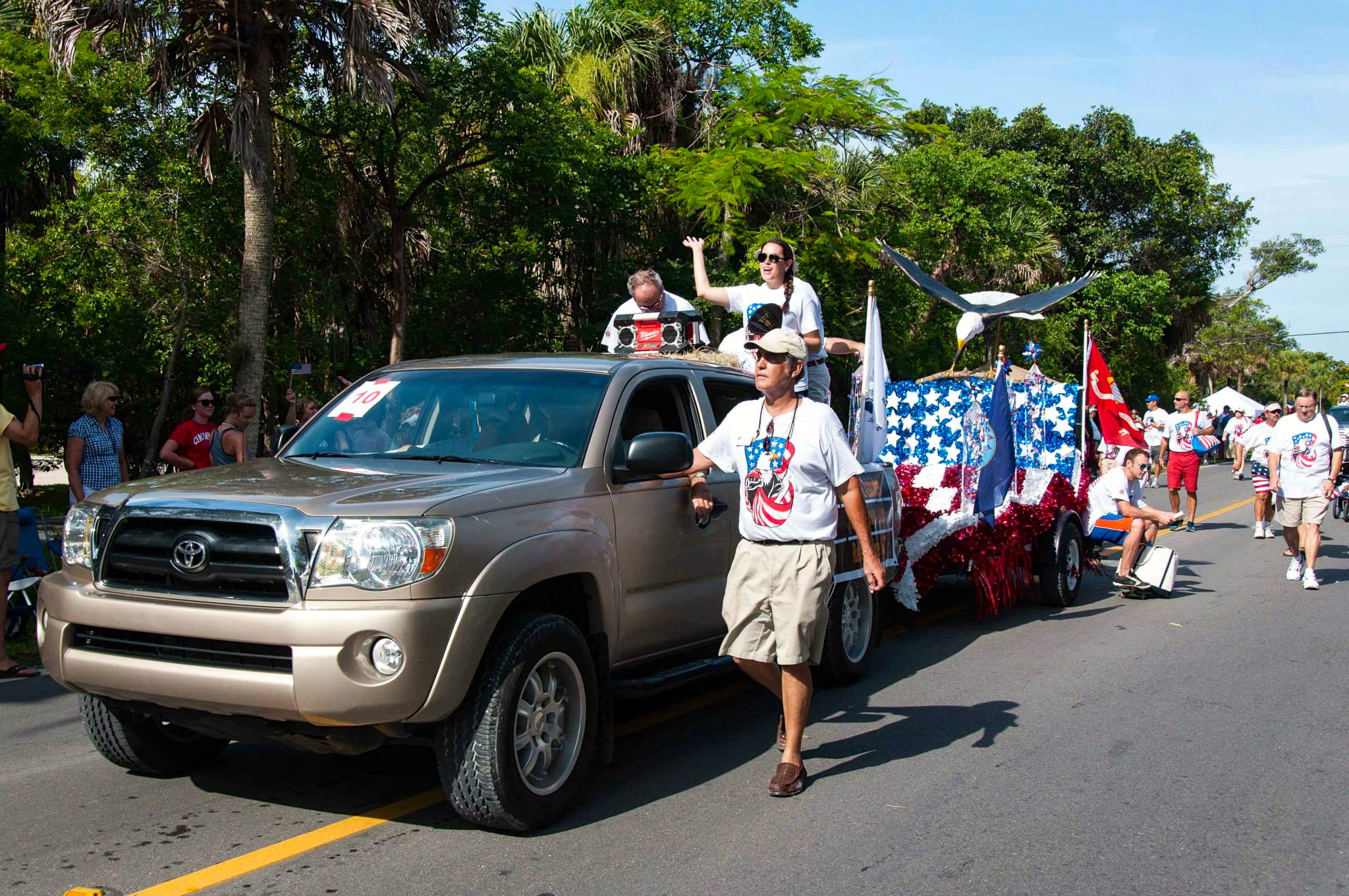 Sanibel 4th of July Parade