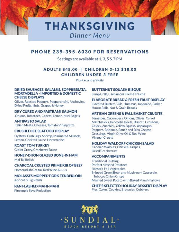 Sundial Thanksgiving