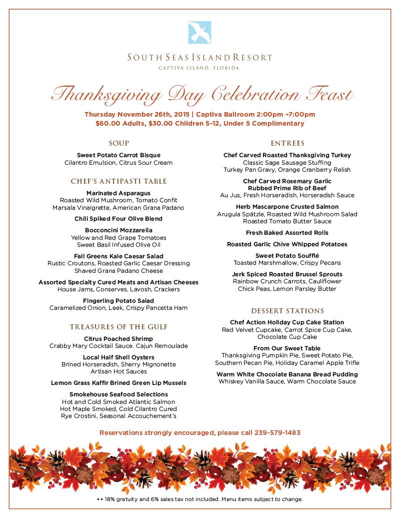 South Seas Thanksgiving