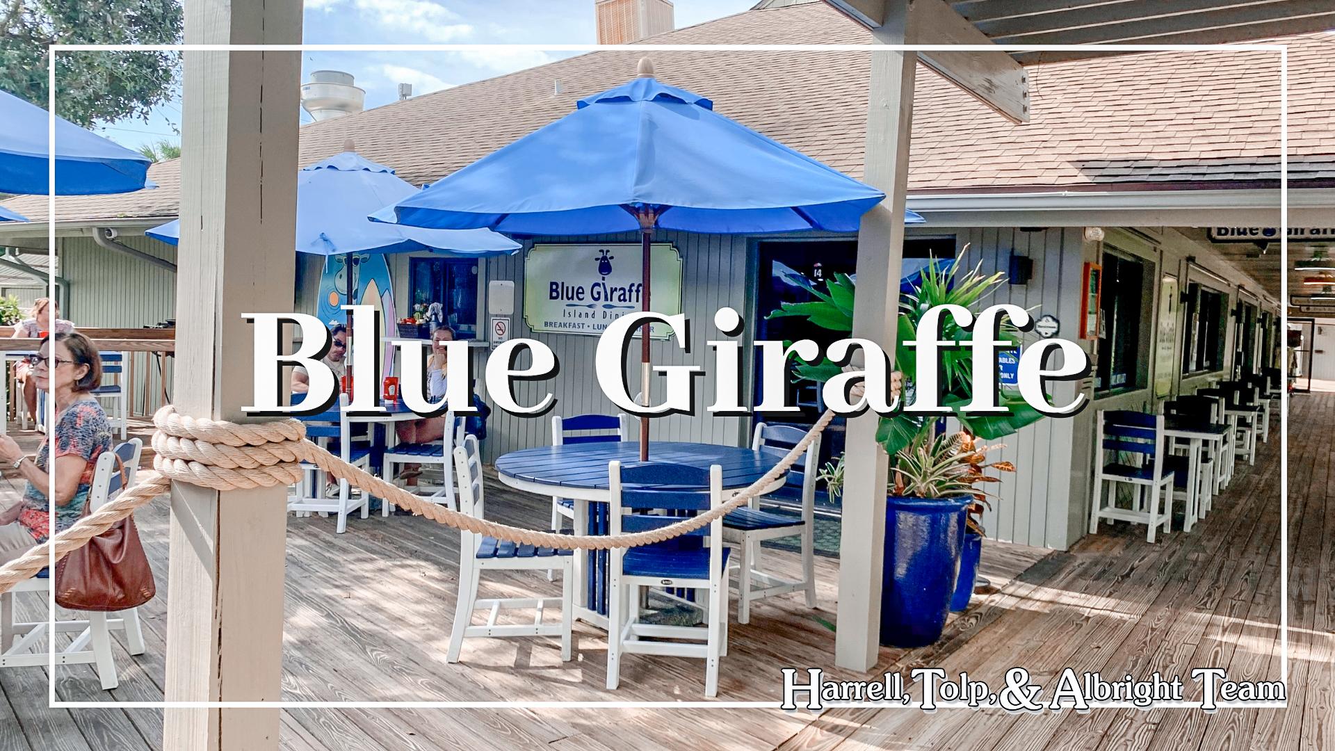 Blue Giraffe Periwinkle Place