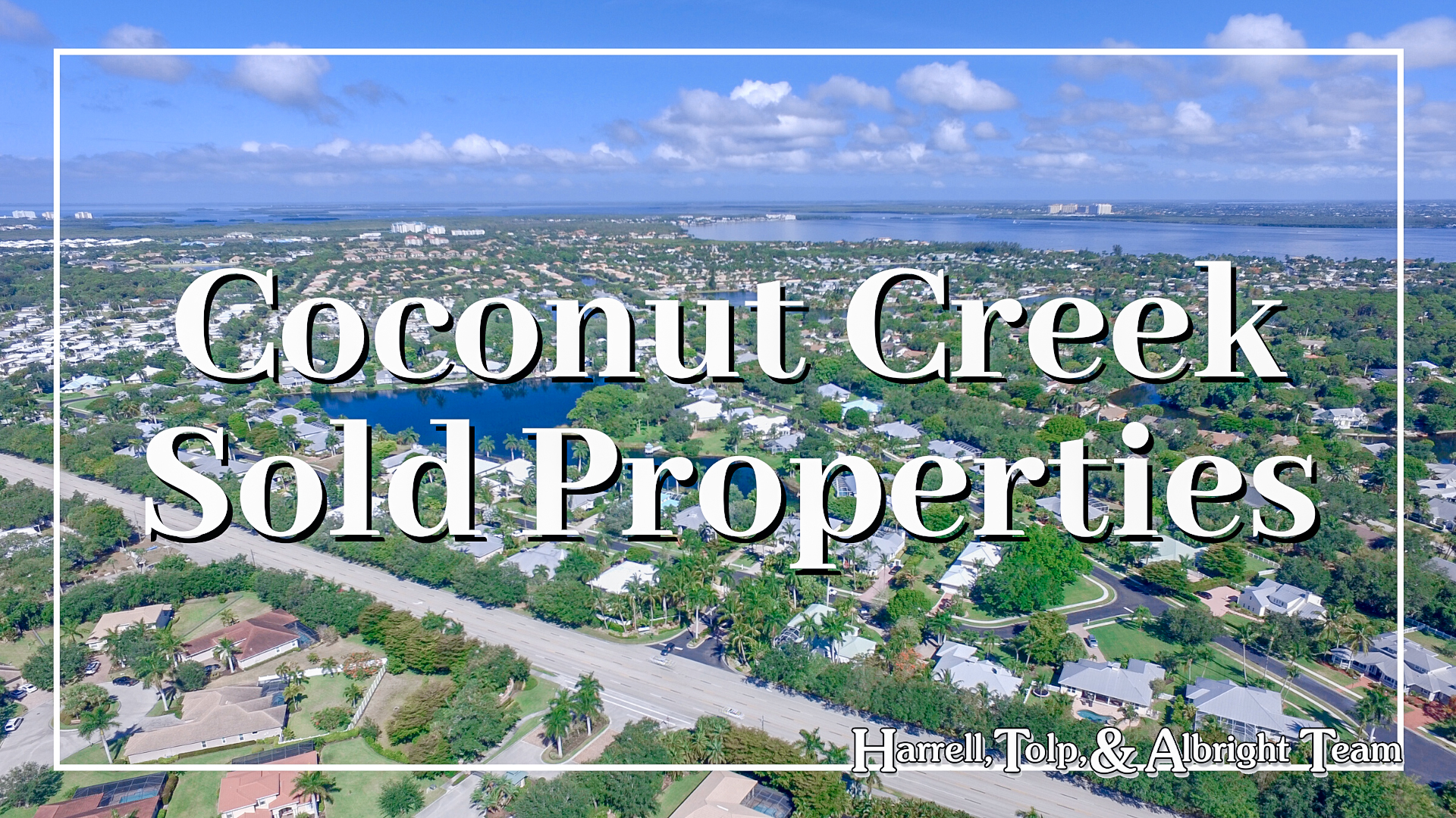 Coconut Creek Sold Homes
